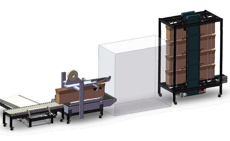 Four-Stage Auto Packaging Machine